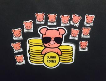 Coin Club Close Up